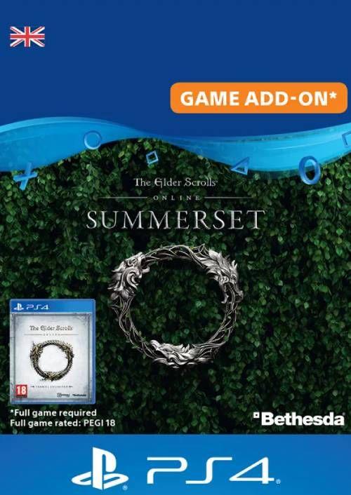 The Elder Scrolls Online: Summerset Upgrade Edition PS4 (UK)
