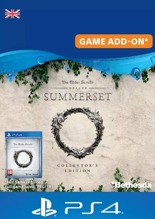 The Elder Scrolls Online: Summerset Collector's Upgrade PS4 (UK)