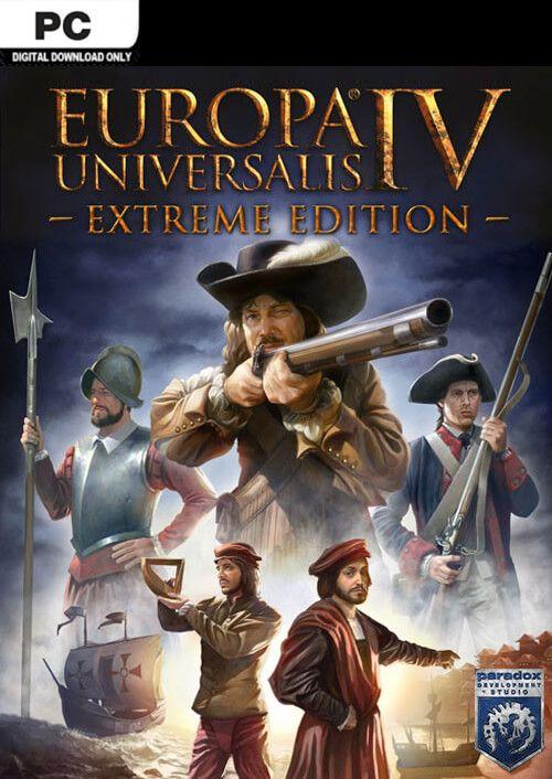 Europa Universalis IV 4 Extreme Edition PC