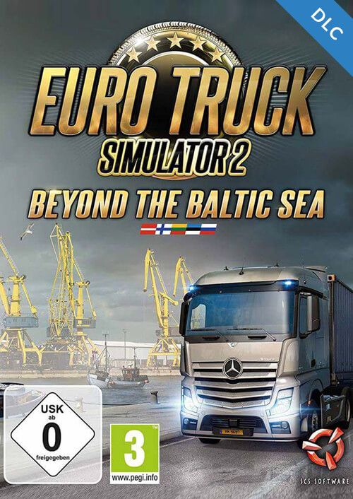 get euro truck simulator 2 beyond the baltic sea dlc pc. Black Bedroom Furniture Sets. Home Design Ideas
