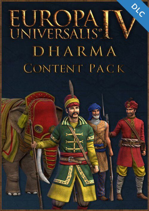 Europa Universalis IV 4 Dharma Content Pack PC