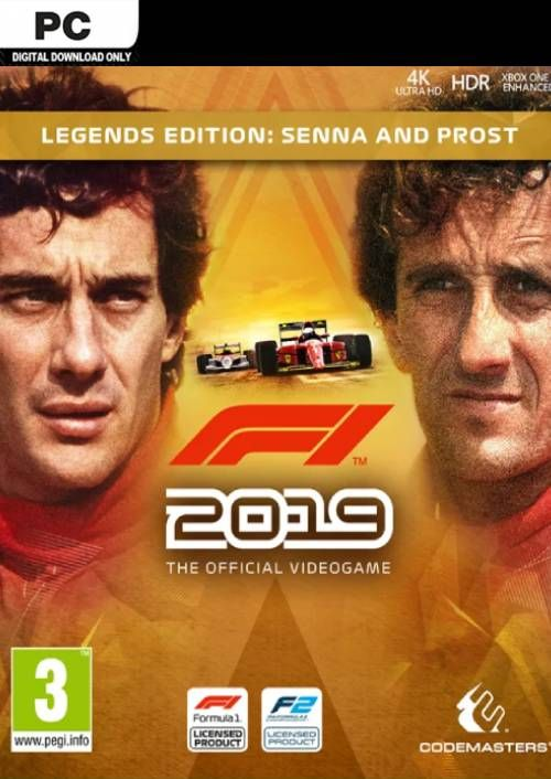 F1 2019 Legends Edition PC