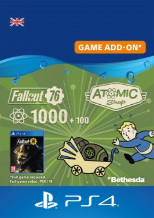 Fallout 76 - 1100 Atoms PS4