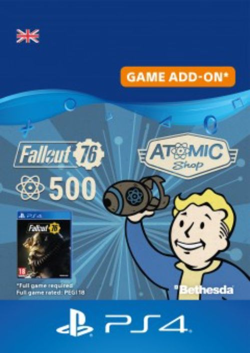Fallout 76 - 500 Atoms PS4