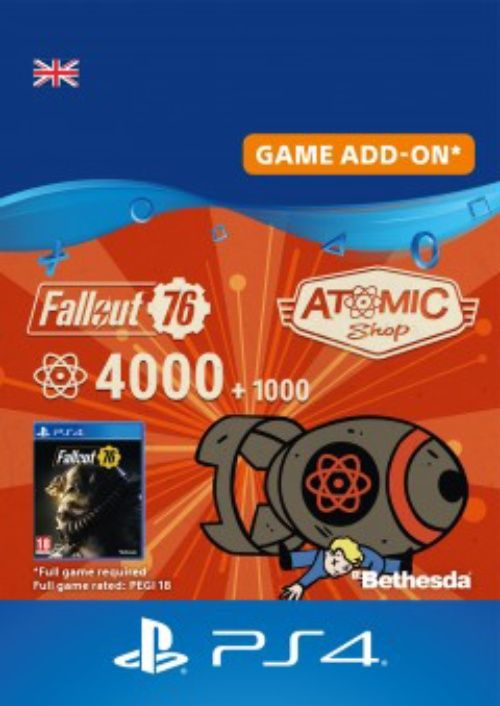 Fallout 76 - 5000 Atoms PS4