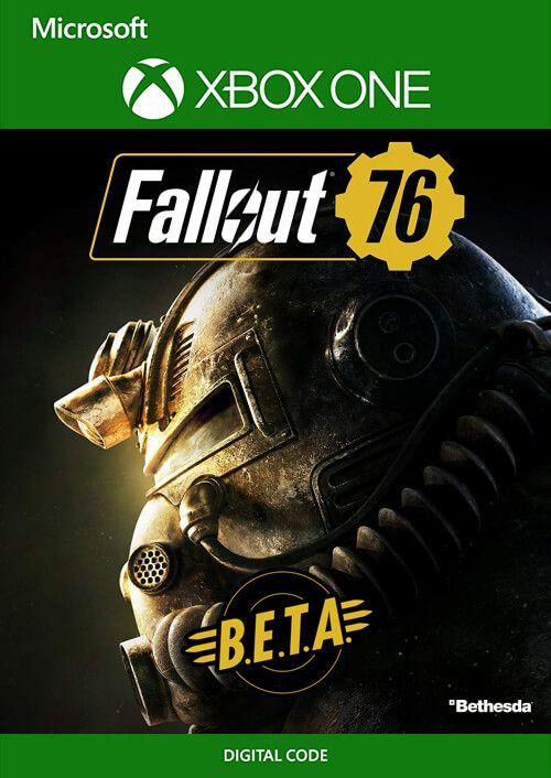 Fallout 76 BETA Xbox One