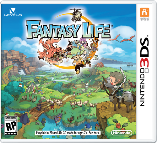 Fantasy Life 3DS - Game Code