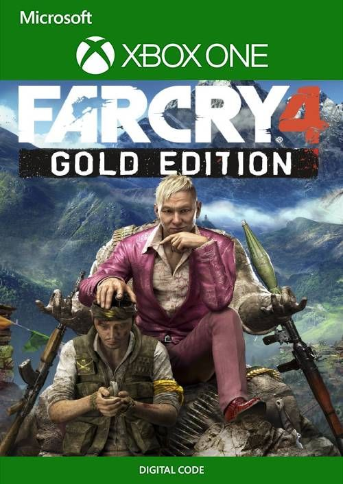 Far Cry 4 Gold Edition Xbox One (UK)