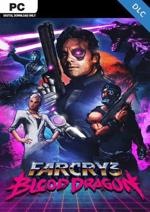Far Cry 3 Blood Dragon Dlc Cdkeys