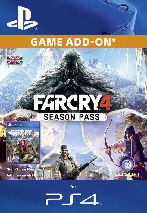Far Cry 4 Season pass PS4