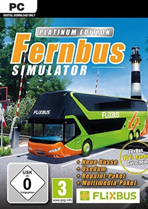 Fernbus Simulator - Platinum Edition PC
