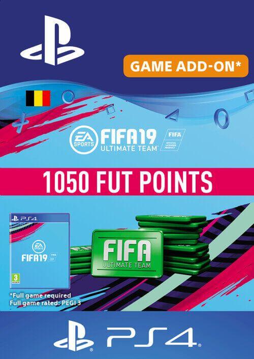 Fifa 19 - 1050 FUT Points PS4 (Belgium)