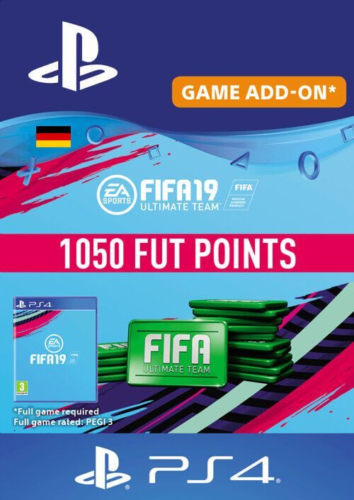 Fifa 19 - 1050 FUT Points PS4 (Germany)