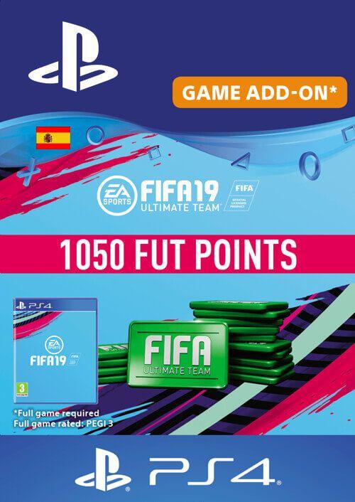 Fifa 19 - 1050 FUT Points PS4 (Spain)