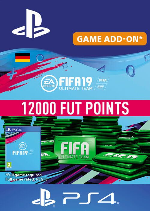 Fifa 19 - 12000 FUT Points PS4 (Germany)