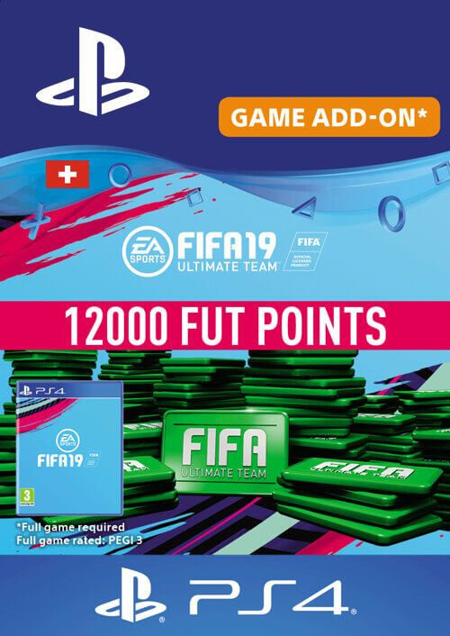 Fifa 19 - 12000 FUT Points PS4 (Switzerland)