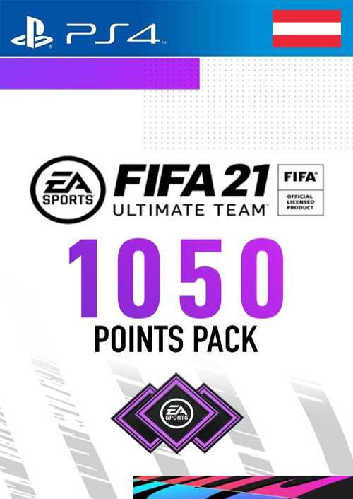 FIFA 21 Ultimate Team 1050 Points Pack PS4 (Austria)