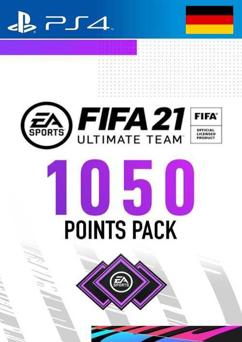 FIFA 21 Ultimate Team 1050 Points Pack PS4 (Germany)