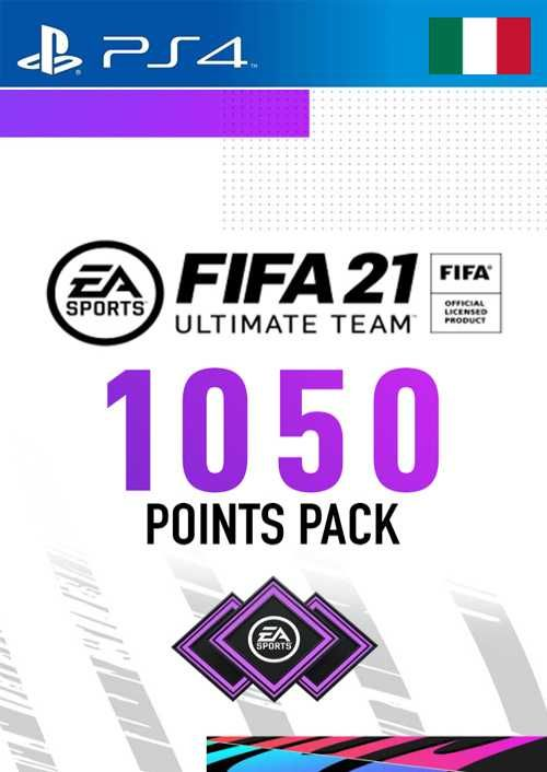 FIFA 21 Ultimate Team 1050 Points Pack PS4 (Italy)