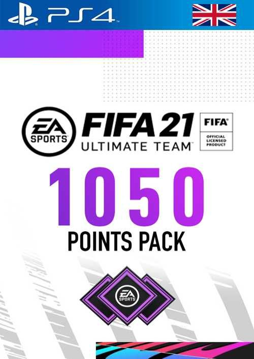 FIFA 21 Ultimate Team 1050 Points Pack PS4 (UK)