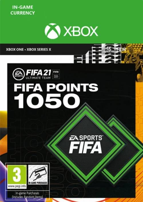 FIFA 21 Ultimate Team 1050 Points Pack Xbox One / Xbox Series X