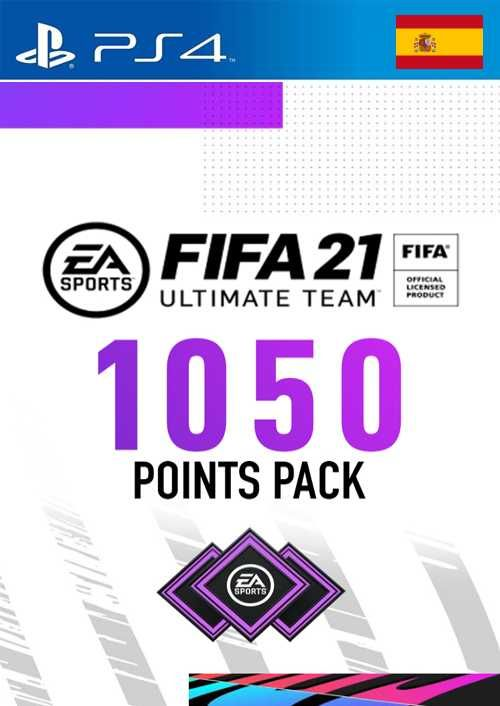 FIFA 21 Ultimate Team 1050 Points Pack PS4 (Spain)