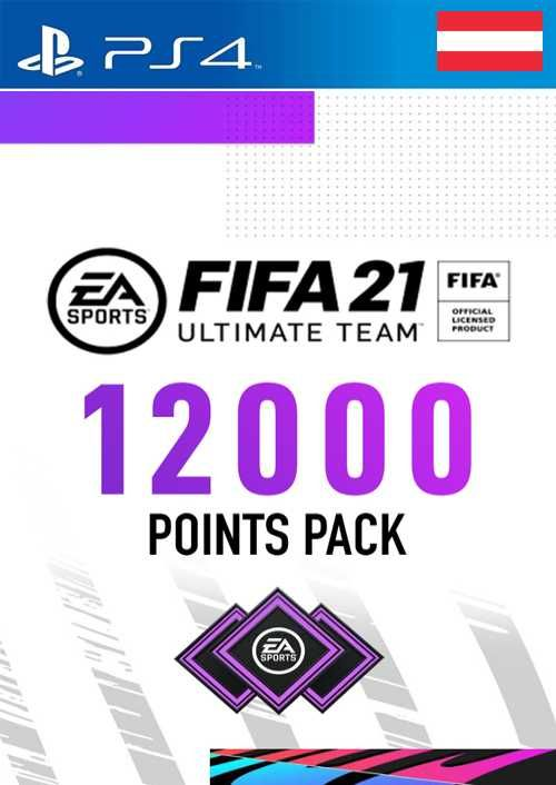 FIFA 21 Ultimate Team 12000 Points Pack PS4 (Austria)