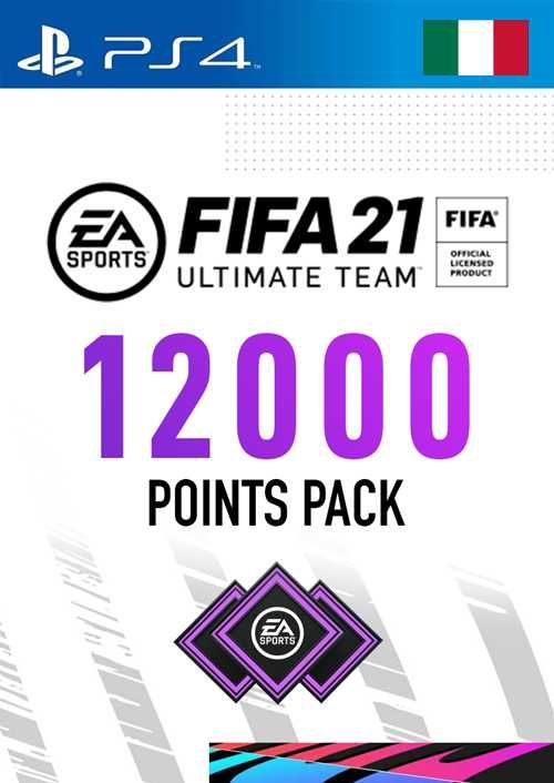 FIFA 21 Ultimate Team 12000 Points Pack PS4 (Italy)