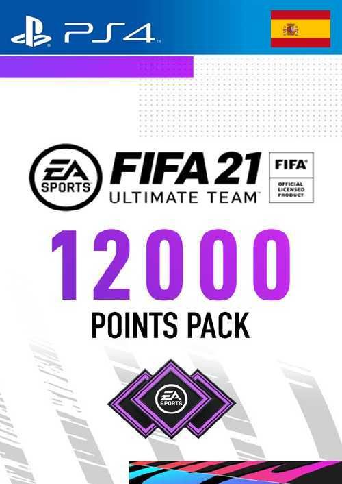 FIFA 21 Ultimate Team 12000 Points Pack PS4 (Spain)