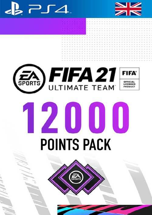 FIFA 21 Ultimate Team 12000 Points Pack PS4 (UK)