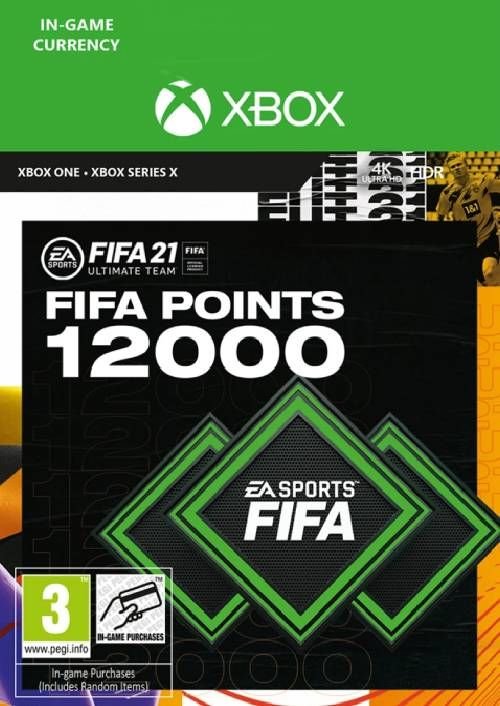 FIFA 21 Ultimate Team 12000 Points Pack Xbox One / Xbox Series X