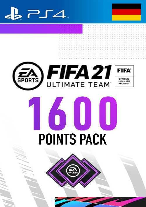 FIFA 21 Ultimate Team 1600 Points Pack PS4 (Germany)
