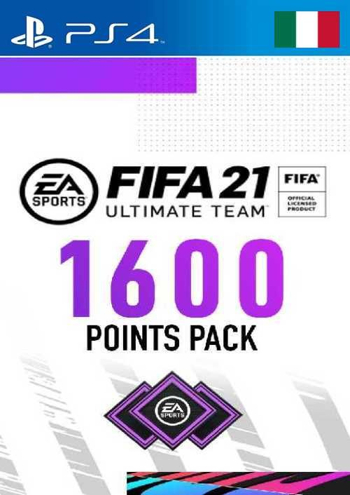 FIFA 21 Ultimate Team 1600 Points Pack PS4 (Italy)