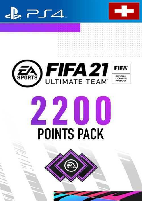 FIFA 21 Ultimate Team 2200 Points Pack PS4 (Switzerland)