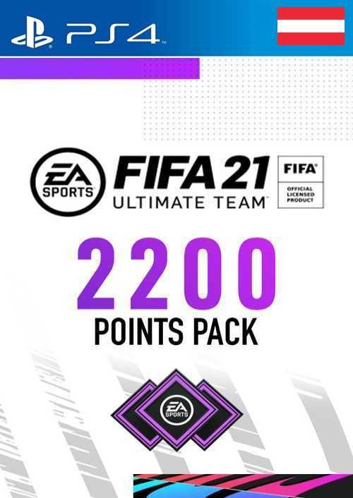 FIFA 21 Ultimate Team 2200 Points Pack PS4 (Austria)