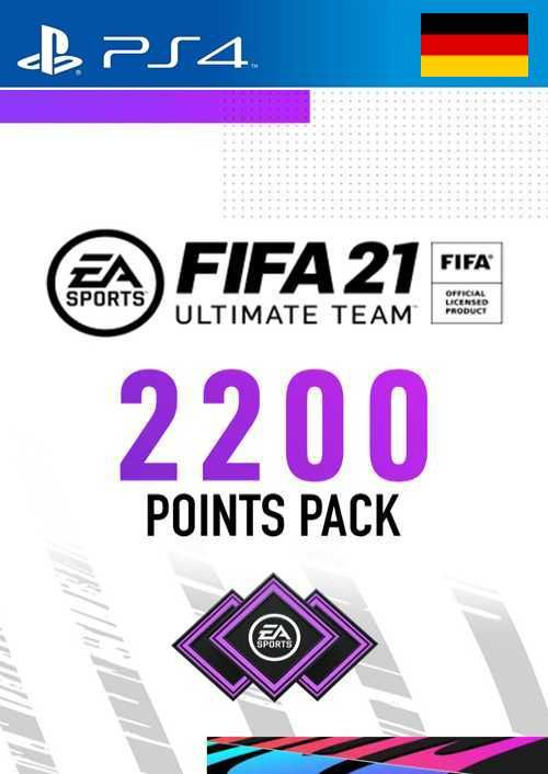 FIFA 21 Ultimate Team 2200 Points Pack PS4 (Germany)