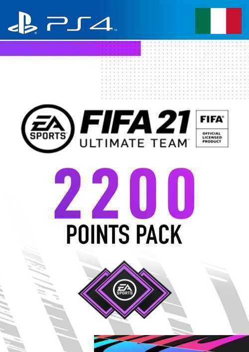 FIFA 21 Ultimate Team 2200 Points Pack PS4 (Italy)