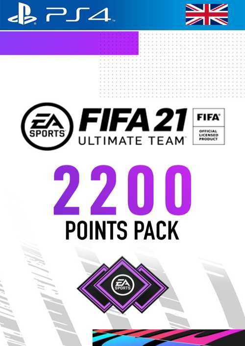 FIFA 21 Ultimate Team 2200 Points Pack PS4 (UK)