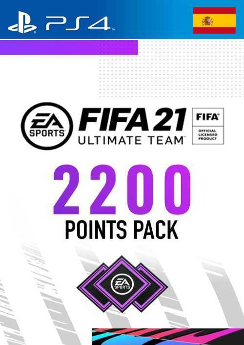 FIFA 21 Ultimate Team 2200 Points Pack PS4 (Spain)