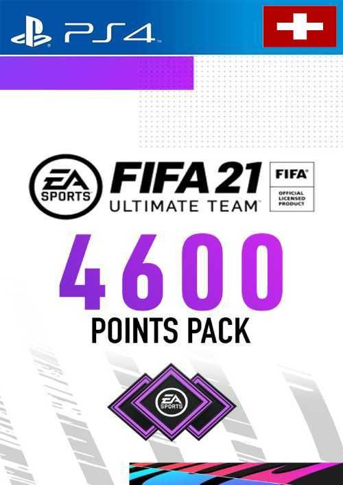 FIFA 21 Ultimate Team 4600 Points Pack PS4 (Switzerland)