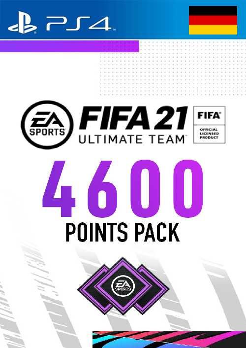 FIFA 21 Ultimate Team 4600 Points Pack PS4 (Germany)