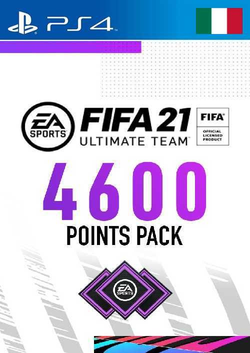 FIFA 21 Ultimate Team 4600 Points Pack PS4 (Italy)