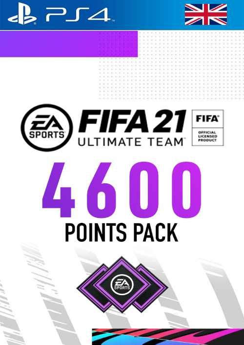 FIFA 21 Ultimate Team 4600 Points Pack PS4 (UK)