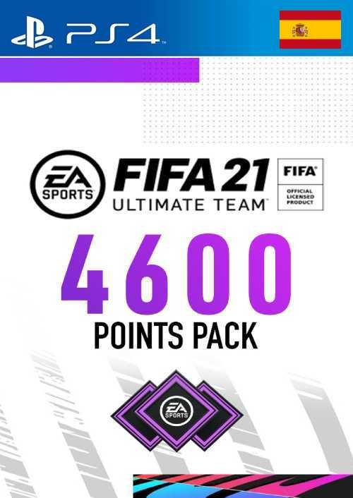 FIFA 21 Ultimate Team 4600 Points Pack PS4 (Spain)