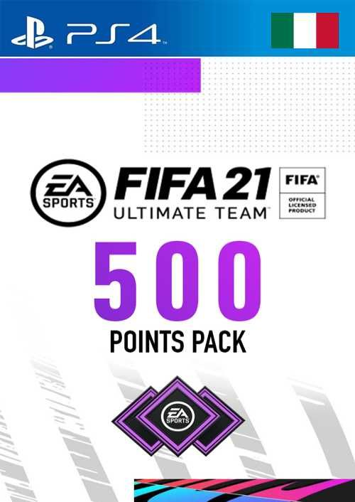 FIFA 21 Ultimate Team 500 Points Pack PS4 (Italy)
