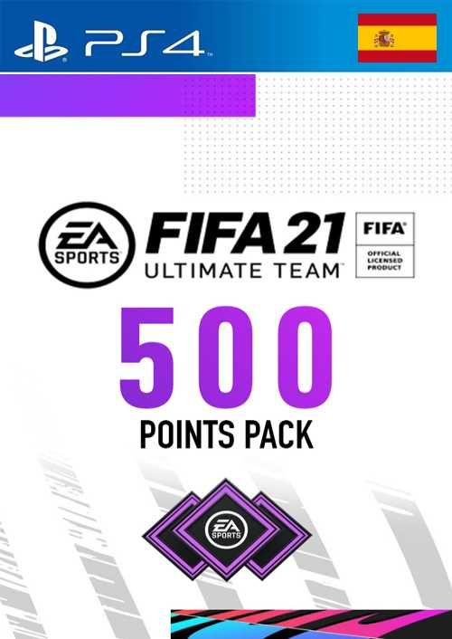 FIFA 21 Ultimate Team 500 Points Pack PS4 (Spain)