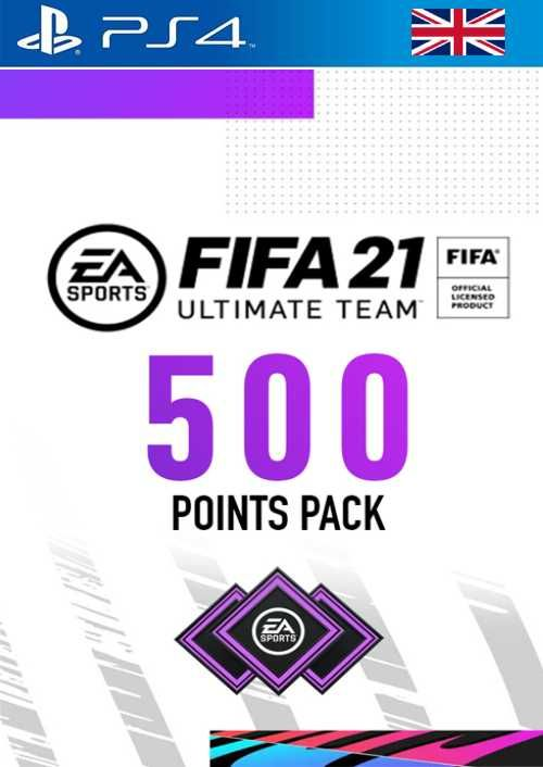 FIFA 21 Ultimate Team 500 Points Pack PS4 (UK)