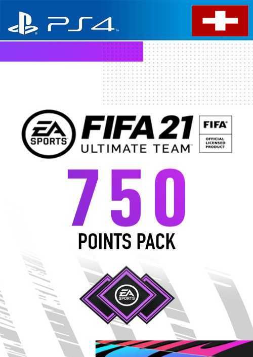 FIFA 21 Ultimate Team 750 Points Pack PS4 (Switzerland)
