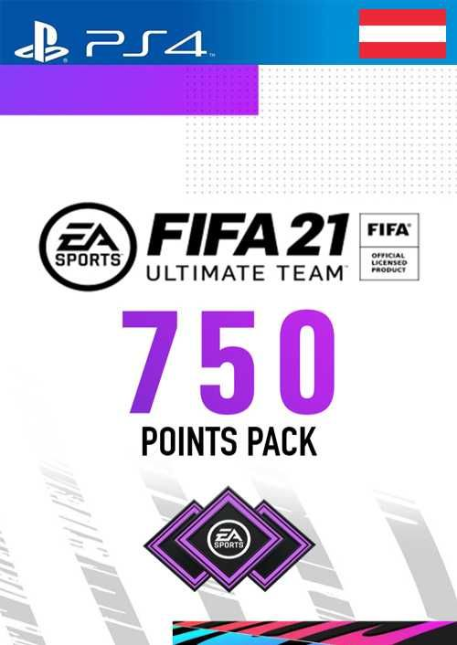 FIFA 21 Ultimate Team 750 Points Pack PS4 (Austria)