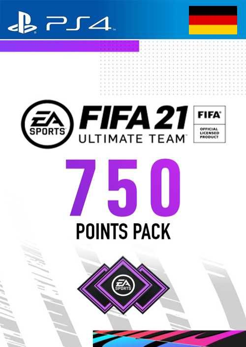 FIFA 21 Ultimate Team 750 Points Pack PS4 (Germany)